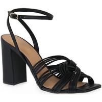 Sapatos Mulher Sandálias Miss Unique UNIQUE   PRETO SMOOTHIE Nero