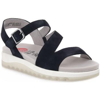 Sapatos Mulher Sandálias Jana SANDAL NAVY Blu