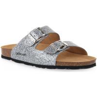 Sapatos Mulher Chinelos Grunland ARGENTO 70 SARA Grigio