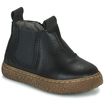 Sapatos Rapaz Botas baixas Citrouille et Compagnie PESTACLE Preto