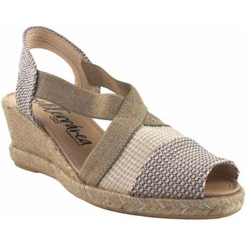 Sapatos Mulher Alpargatas Calzamur senhora  10312 bege Branco