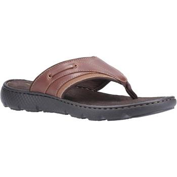 Sapatos Homem Chinelos Hush puppies  Brown
