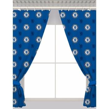 Casa Cortinados Chelsea Fc 168 x 137 cm Azul