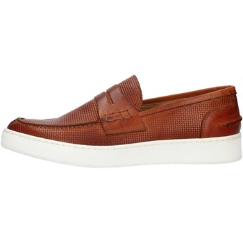 Sapatos Homem Mocassins Made In Italia 100 Castanho