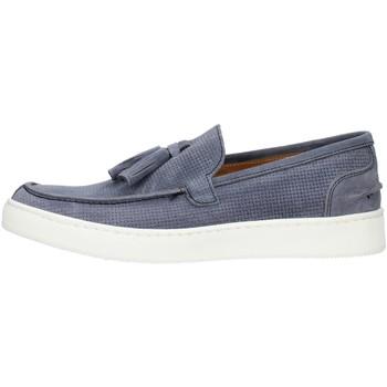 Sapatos Homem Mocassins Made In Italia 080CAMOSCIO Azul