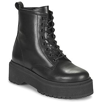 Sapatos Mulher Botas baixas Betty London PICARLA Preto
