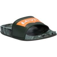 Sapatos Criança chinelos Levi's VPOL0070S POOL Verde