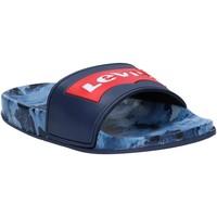 Sapatos Criança chinelos Levi's VPOL0070S POOL Azul