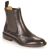 Sapatos Mulher Botas baixas Melvin & Hamilton SALLY 112 Preto