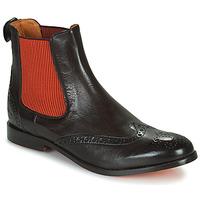 Sapatos Mulher Botas baixas Melvin & Hamilton AMELIE 5 Castanho / Laranja