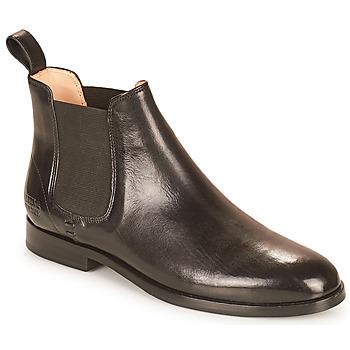 Sapatos Mulher Botas baixas Melvin & Hamilton SUSAN 10 Preto