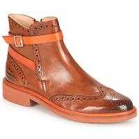 Sapatos Mulher Botas baixas Melvin & Hamilton SELINA 25 Castanho