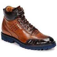 Sapatos Homem Botas baixas Melvin & Hamilton TREVOR 28 Castanho