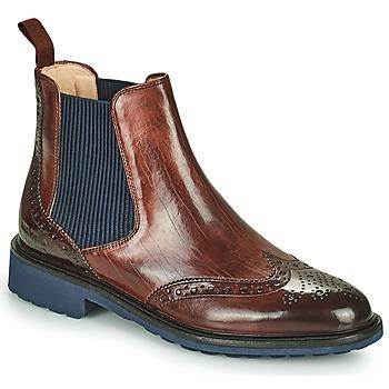 Sapatos Mulher Botas baixas Melvin & Hamilton SELINA 6 Castanho