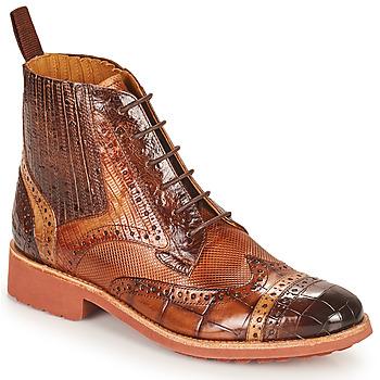 Sapatos Mulher Botas baixas Melvin & Hamilton AMELIE 17 Castanho