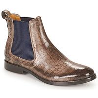 Sapatos Mulher Botas baixas Melvin & Hamilton AMELIE 12 Castanho