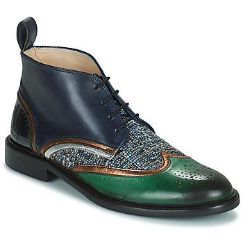Sapatos Mulher Botas baixas Melvin & Hamilton SALLY 30 Castanho