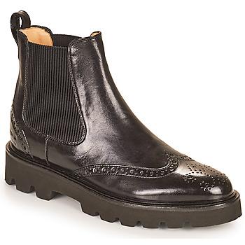 Sapatos Mulher Botas baixas Melvin & Hamilton SELINA 29 Preto