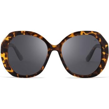 Relógios & jóias óculos de sol Hanukeii Lombard Castanho