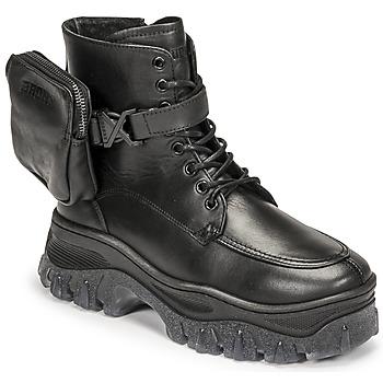 Sapatos Mulher Botas baixas Bronx JAXSTAR MID Preto