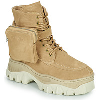 Sapatos Mulher Botas baixas Bronx JAXSTAR MID Bege