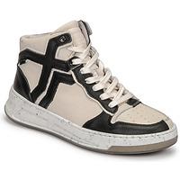 Sapatos Mulher Sapatilhas de cano-alto Bronx OLD COSMO Branco / Preto