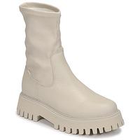 Sapatos Mulher Botas baixas Bronx GROOV Y Branco