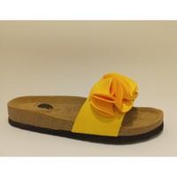 Sapatos Mulher Chinelos Bipedes PR2015 YELLOW Amarelo