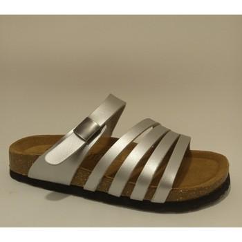 Sapatos Mulher Chinelos Bipedes PR2005 SILVER Prateado
