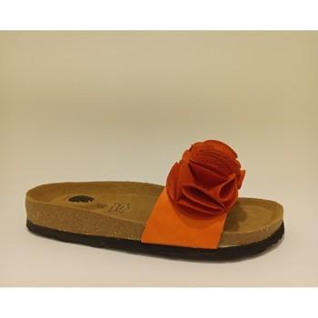 Sapatos Mulher Chinelos Bipedes PR2015 ORANGE Laranja