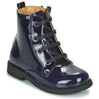 Sapatos Rapariga Botas baixas Citrouille et Compagnie HEMANU Azul