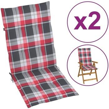 Casa Almofada de cadeira VidaXL Almofadão para cadeira de jardim 120 x 50 x 4 cm Multicolor