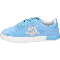 Sapatos Rapariga Sapatilhas Holalà Sneakers BH09 Azul