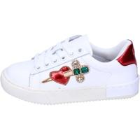Sapatos Rapariga Sapatilhas Holalà Sneakers BH12 Branco