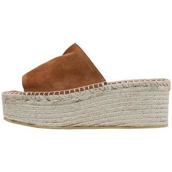 Sapatos Mulher Chinelos Senses & Shoes  Castanho