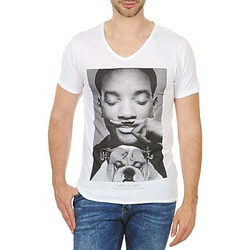Textil Homem T-Shirt mangas curtas Eleven Paris WOLY M Branco