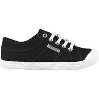 Sapatos Homem Sapatilhas Kawasaki FOOTWEAR - Tennis canvas shoe - black Preto