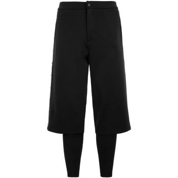 Textil Homem Calças de treino Kappa - Pantalone nero 311177W-A01 NERO