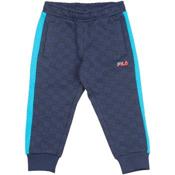 Textil Criança Calças de treino Fila - Pantalone blu 688075-A860 BLU