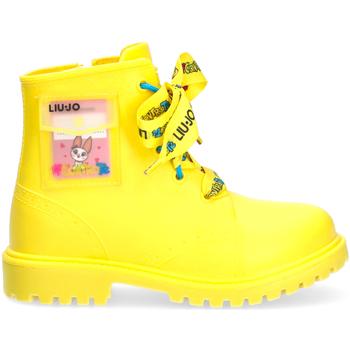 Sapatos Criança Botas baixas Liu Jo - Stivale pioggia giallo RAINBOOT 1 GIALLO