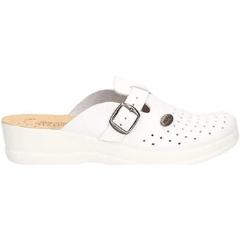 Sapatos Mulher Tamancos Fly-Flot - Pantofola bianco 63465BE BIANCO