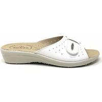 Sapatos Mulher Chinelos Fly-Flot - Pantofola bianco F2002BE BIANCO