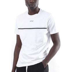 Textil Homem T-Shirt mangas curtas Ice Play - T-shirt bianco F017 P400 1101 BIANCO