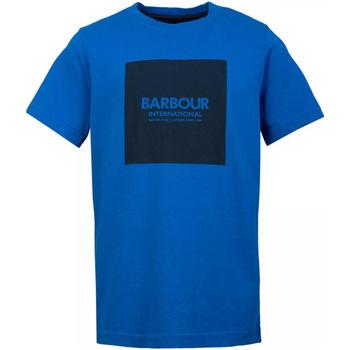 Textil Homem T-Shirt mangas curtas Barbour - T-shirt blu MTS0540-BL54 BLU