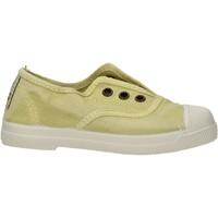 Sapatos Rapaz Sapatilhas Natural World - Scarpa elast verde 470E-675 VERDE