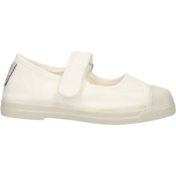 Sapatos Rapariga Sapatilhas Natural World - Ballerina bianco 476-505 BIANCO