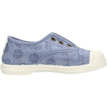 Sapatos Rapaz Sapatilhas de ténis Natural World - Slip on  blu 474-590 BLU