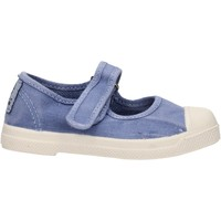 Sapatos Rapariga Sapatilhas Natural World - Ballerina blu 476E-690 BLU