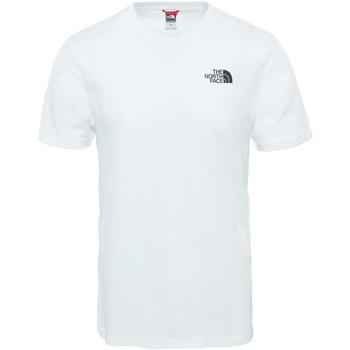 Textil Homem T-Shirt mangas curtas The North Face - T-shirt bianco NF0A2TX5FN4 BIANCO