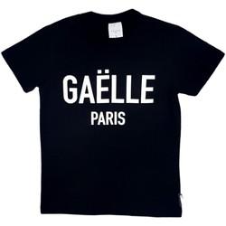 Textil Rapaz T-Shirt mangas curtas GaËlle Paris - T-shirt nero 2736M0070 NERO
